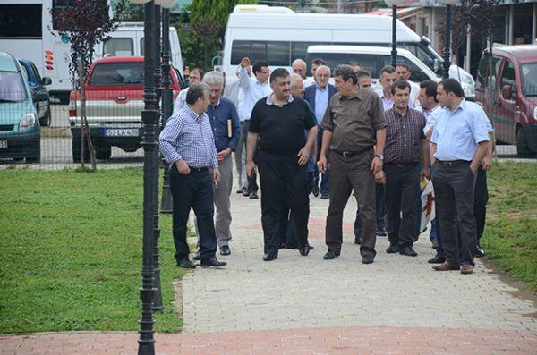 Ak Parti Rize Belediye başkanları toplantısı Fınd