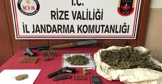 Jandarmadan Kaçak Silah Atölyesine Baskın