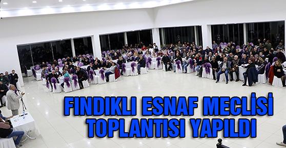 FINDIKLI ESNAF MECLİSİ TOPLANTISI YAPILDI