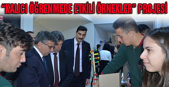 """""""KALICI ÖĞRENMEDE ETKİLİ ÖRNEKLER"""" PROJESİ"""