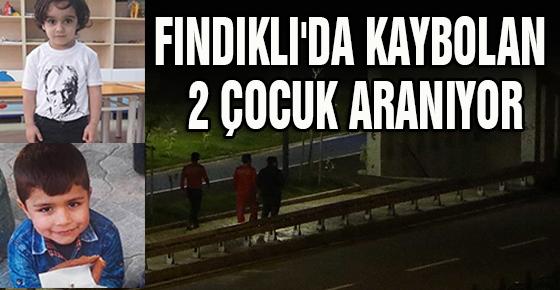 FINDIKLI'DA KAYBOLAN 2 ÇOCUK ARANIYOR