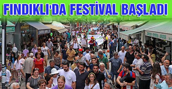 FINDIKLI'DA FESTİVAL BAŞLADI