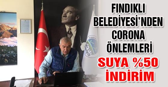 FINDIKLI BELEDİYESİ'NDEN CORONA ÖNLEMLERİ