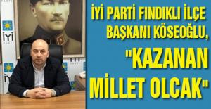 İYİ PARTİ FINDIKLI İLÇE BAŞKANI...