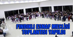 FINDIKLI ESNAF MECLİSİ TOPLANTISI...
