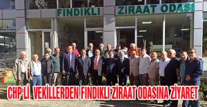 CHP'Lİ VEKİLLERDEN FINDIKLI ZİRAAT...
