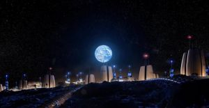 Avrupa Uzay Ajansı, Ay'da inşa edilecek evleri paylaştı