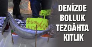 DENİZDE BOLLUK TEZGÂHTA KITLIK