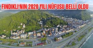 FINDIKLI'NIN 2020 YILI NÜFUSU BELLİ OLDU