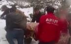Fındıklı'da çatıdan düşen kişi ağır yaralandı